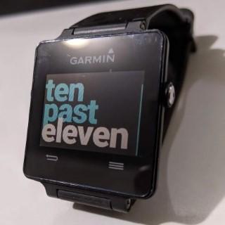 Fuzzy Text Garmin Watchface - Vivoactive